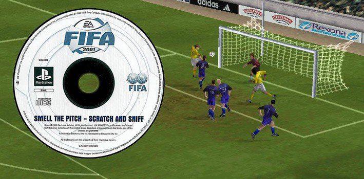 Fifa 2001 - Scratch & Sniff Disc