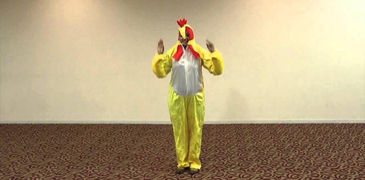 14th May – Dance Like A Chicken Day.