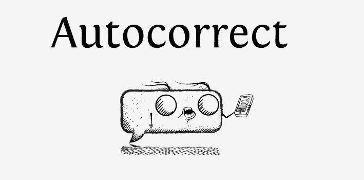 Autocorrect History