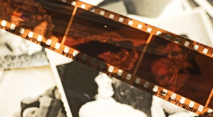 "The term ""footage"" comes from films being measured in feet when being edited in the early days of filmmaking."
