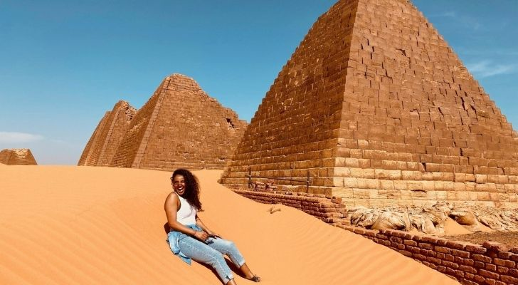 There are twice as many pyramids in Sudan then there are in Egypt.