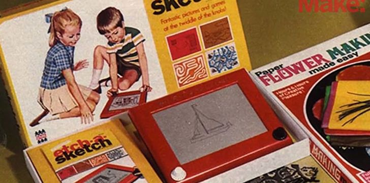 12th July – Etch A Sketch Day.