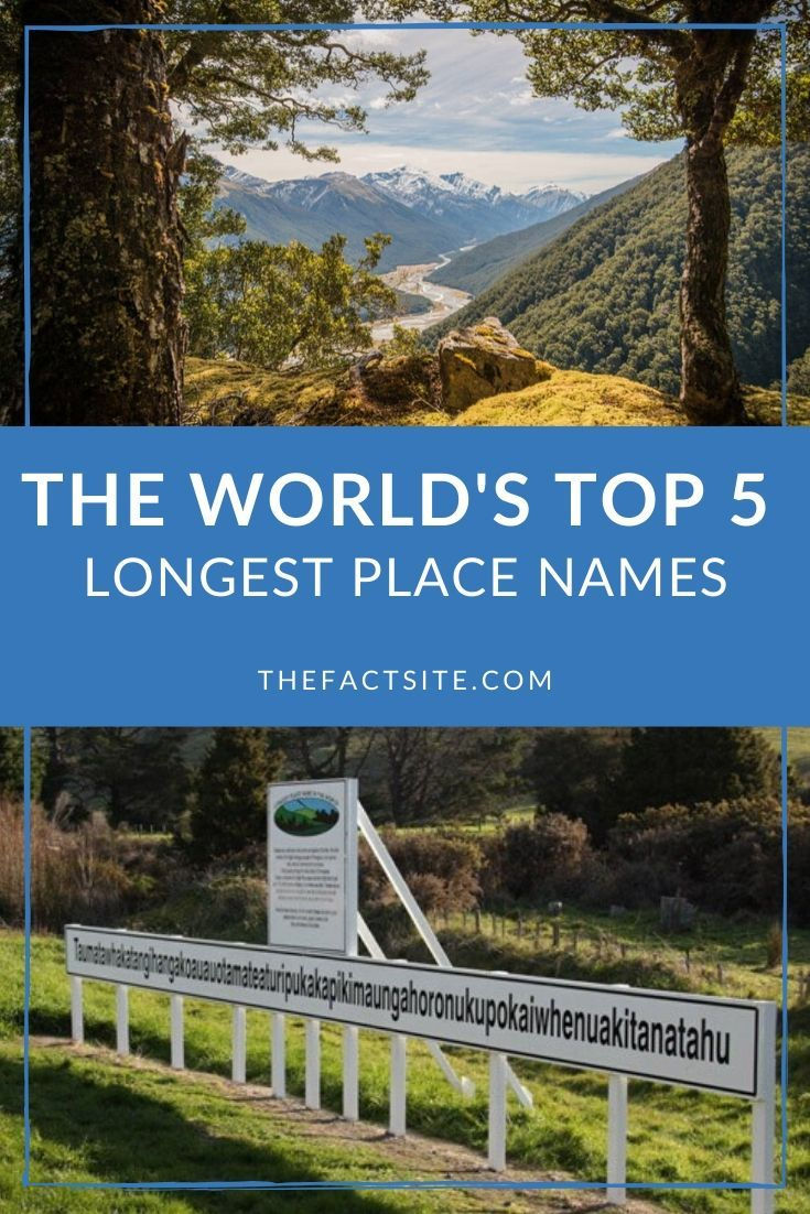The World's Top 5 Longest Place Names