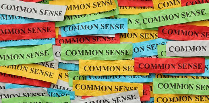 4th November - Use Your Common Sense Day.