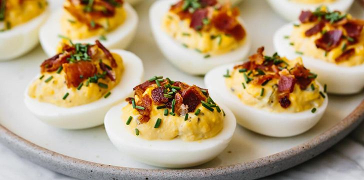 2nd November - Deviled Egg Day.