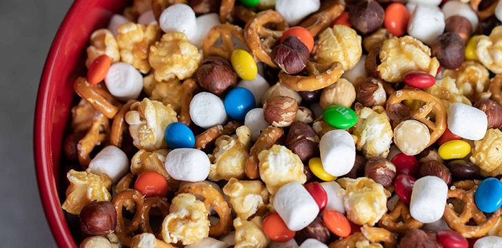 August 31st – Trail Mix Day.