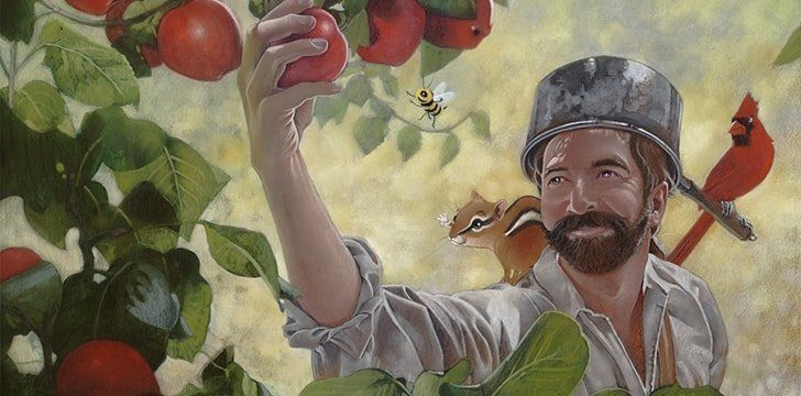 Johnny Appleseed Day.