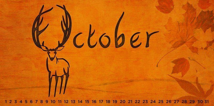 October - Special Days of the Month