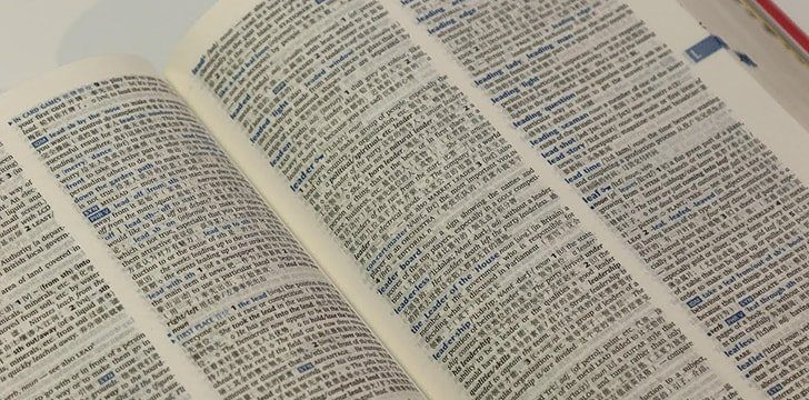 16th October – Dictionary Day.