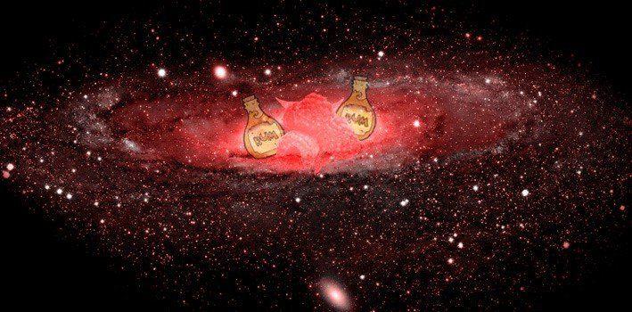 The Milky way, Rum & Rasbierries