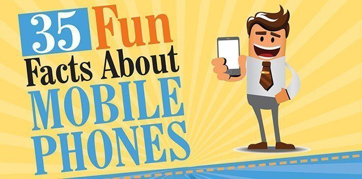 35 Most Interesting Facts About Mobile Phones Infographic ...