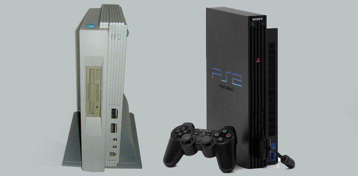 PS2, The Atari Falcon Microbox Comparison