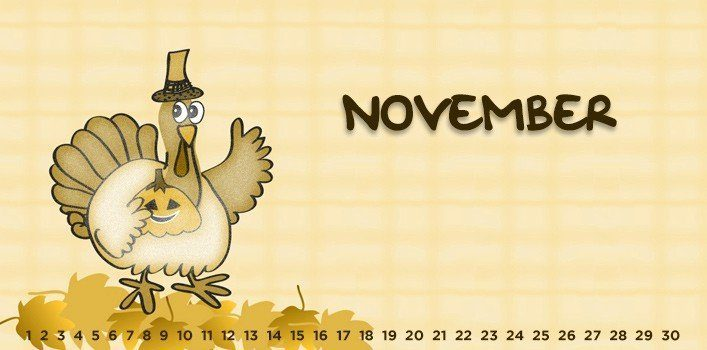 November - Special Days of the Month