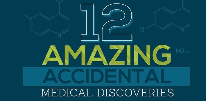 12 Amazing Accidental Medical Discoveries