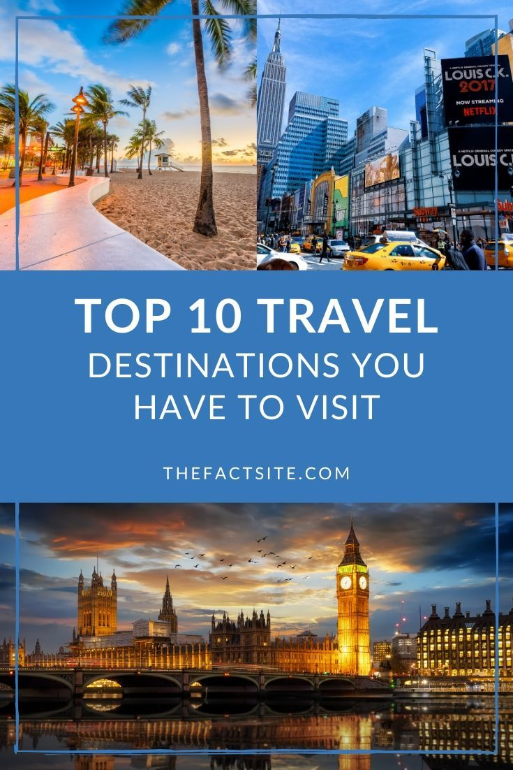Top 10 Travel Destinations You Have To Visit