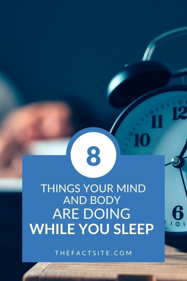 8 Things Your Mind & Body Are Doing While You Sleep