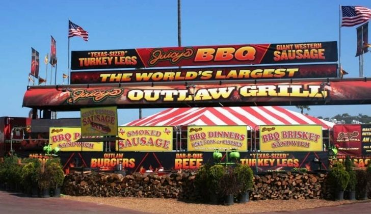A picture of the Juicy's Outlaw Grill Hamburger restaurant