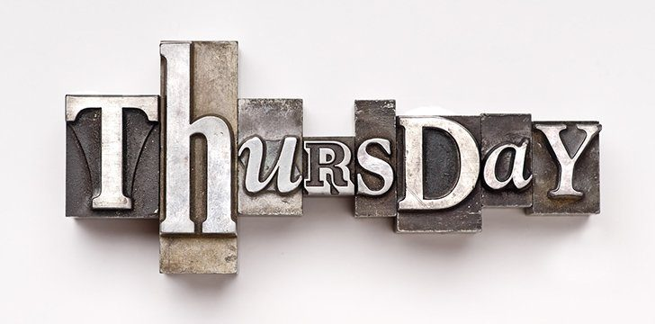 22 Fabulous Facts About Thursday | The Fact Site