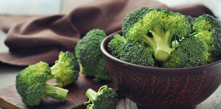Broccoli is a 'man-made' food.