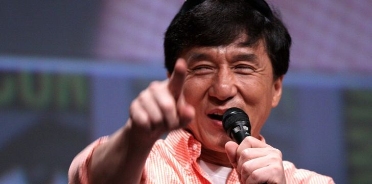 Jackie Chan sung the theme songs for all his films in the 1980s.