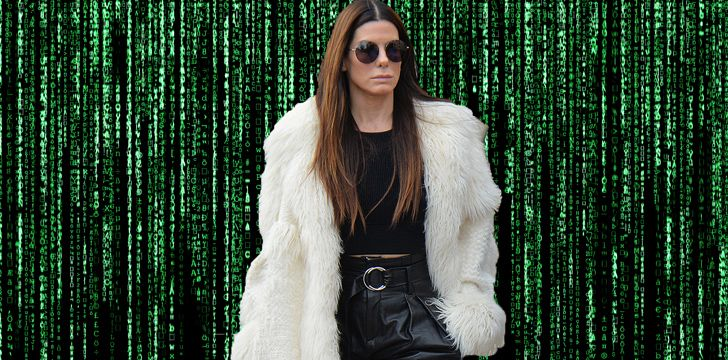 Sandra Bullock was almost 'Neo' in The Matrix.