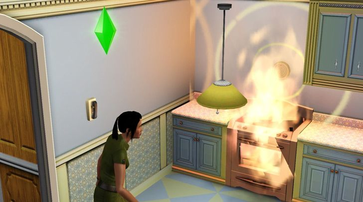 We have a house fire to thank for The Sims.