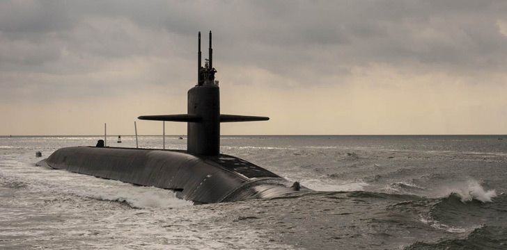 Two stealth nuclear submarines once bumped into each other by accident.