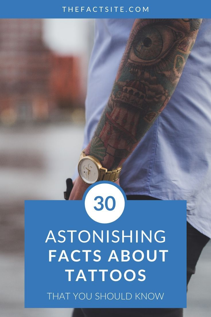 30 Astonishing Facts About Tattoos