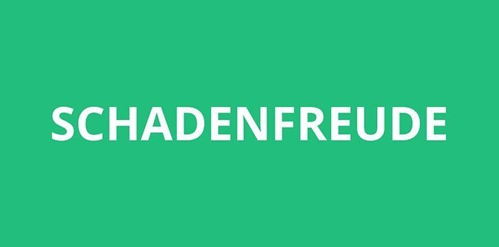 The Amazing History of Schadenfreude