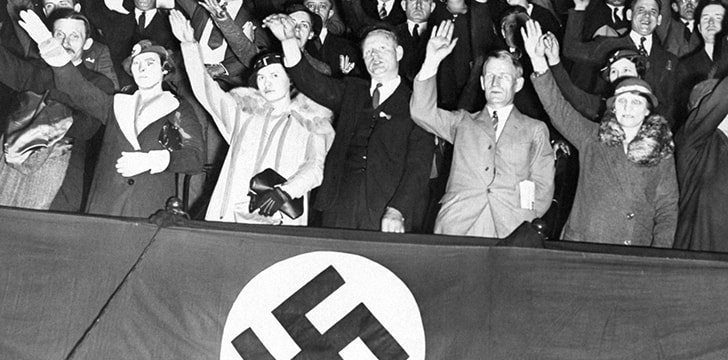 Hitler created the Nazi party after Germany lost World War I