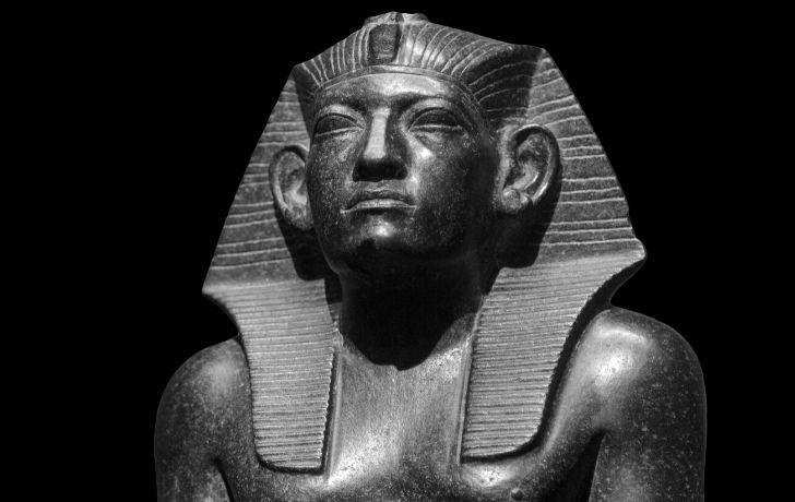 Tutankhamun model