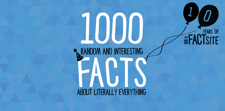 1000 Interesting & Random Facts