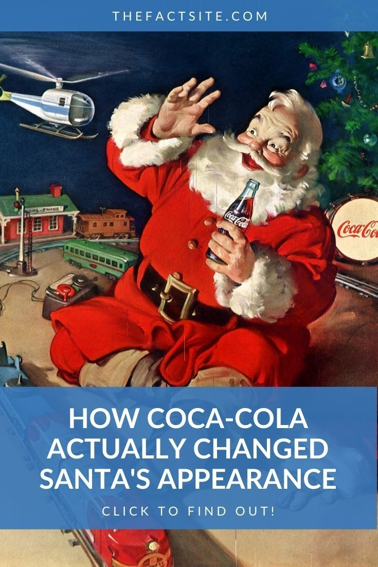 How Coca-Cola Actually Changed Santa's Appearance