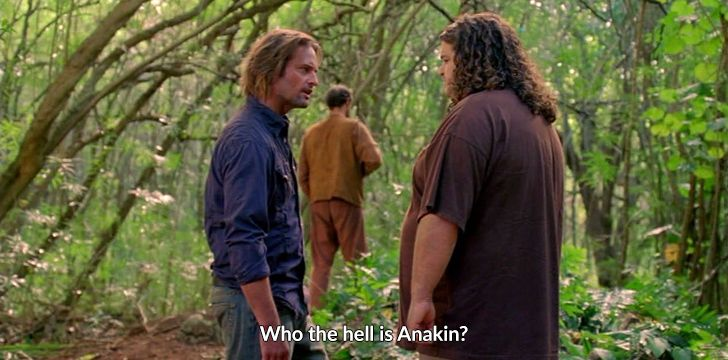 Star Wars References in Lost