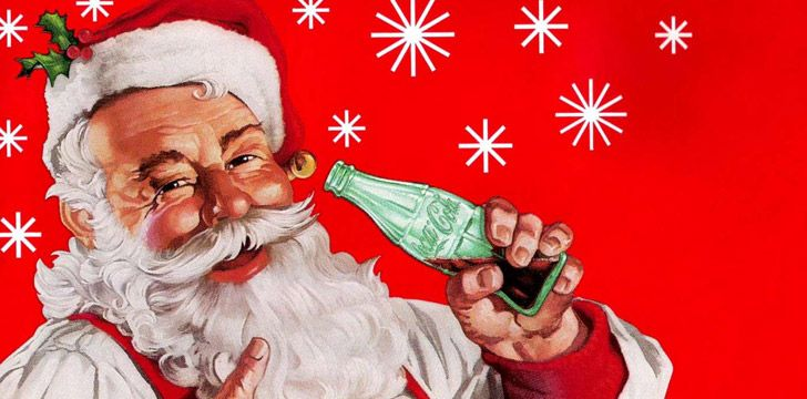 How Coca-Cola Changed Santa's Appearance