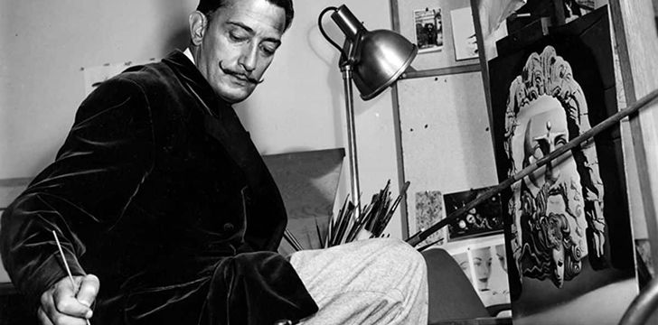 Salvador Dalí's immense talent was noticed at an early age.
