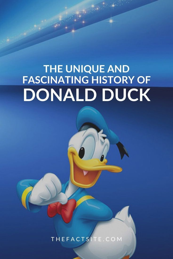 The Fascinating History of Donald Duck
