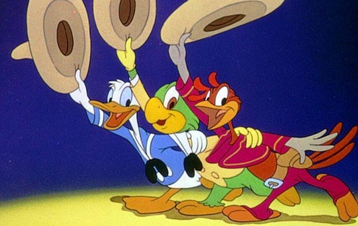 Donald Duck in Three Caballeros.