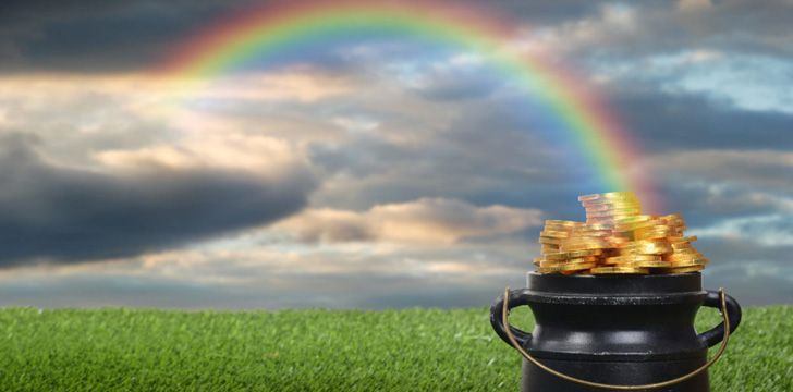 Is there gold at the end of a rainbow?