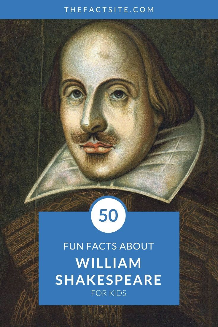 50 Fun Facts About William Shakespeare For Kids