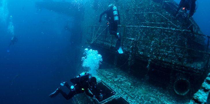 Still a popular diving location!
