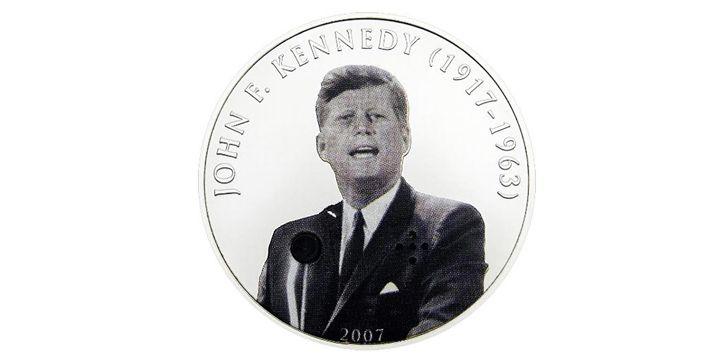 Tugrik Coin - 2007 - John F Kennedy