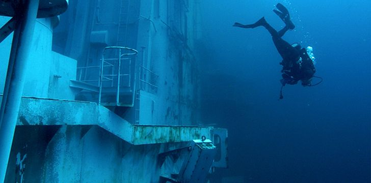 Amazing Diving at this Artificial Reef