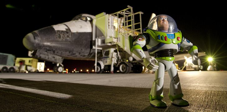 Buss Lightyear Has Been to Outta Space!