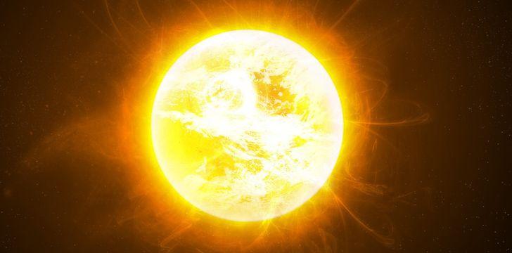 The Sun rotation