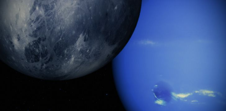Triton & Neptune Rotation