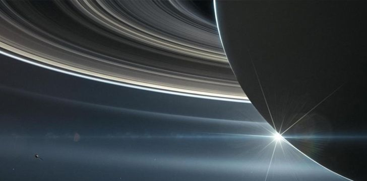 Saturn's thin rings