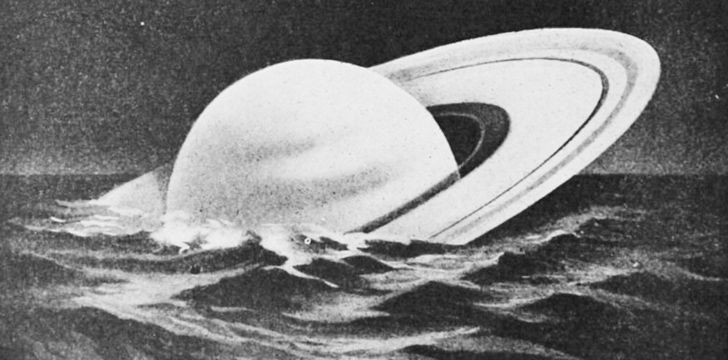 Saturn could float on water