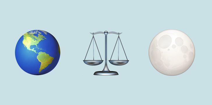 Earth & Moon weight