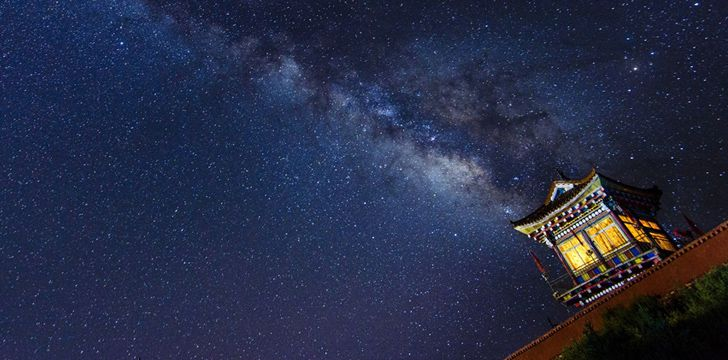 Milky Way in China